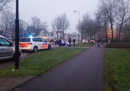 Fietsster raakt gewond na aanrijding met scooter