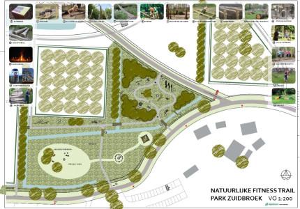 Opening fitnesstrail park Zuidbroek