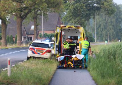 Scooterrijdster gewond na val op de Deventerstraat in Apeldoorn