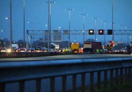 Vier doden na ernstig ongeval op de A1 bij Deventer