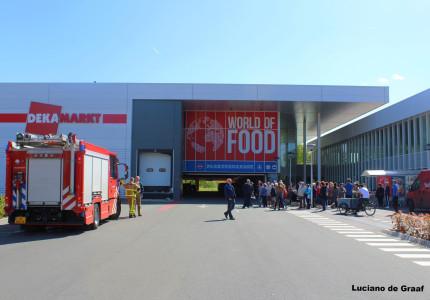 Ontruiming mega supermarkt