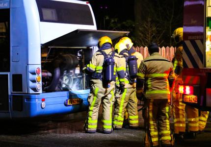 Brandje in bus; passagiers moeten bus verlaten