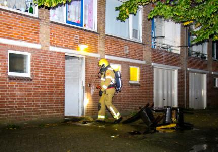 Brand in flatgebouw Zutphen; appartementen ontruimd
