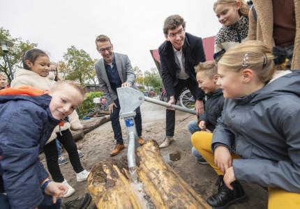 Nieuw schoolplein: buiten leren en bewegen