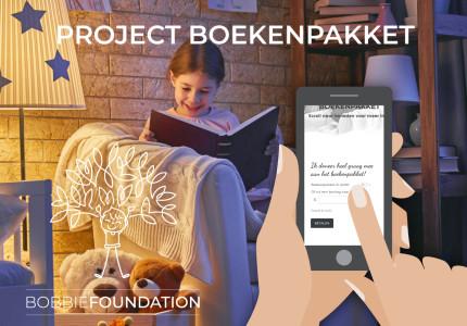 Boekenproject tovert glimlach op het gezicht van kinderen