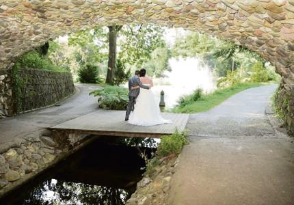 Sfeer proeven tijdens bruidsbeurs in Theehuis