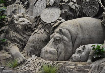 't Veluws Zandsculpturenfestijn voor blinden en slechtzienden