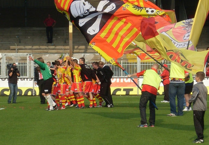 Tussenrapporten Go Ahead Eagles wisselvallig