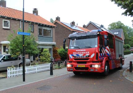 'Woningbrand' aan de Fabianusstraat in Apeldoorn-Zuid