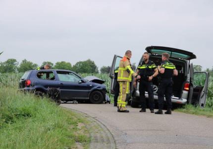 Kinderen komen met de schrik vrij bij ongeval op Ossenkolkweg in Terwolde