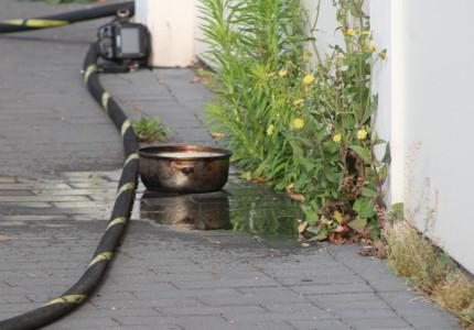 Keukenbrandje Ordenplein snel geblust