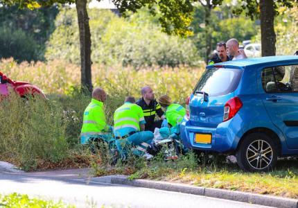 VIDEO   Fietser onwel geworden op fietspad in Apeldoorn