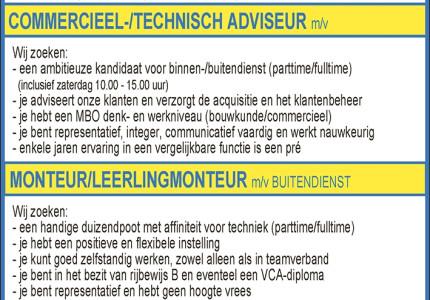 Buiitink zoekt commercieel-/technisch adviseur (m/v)