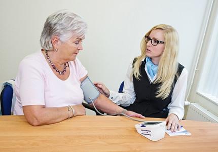 Gratis bloeddrukmetingen bij Vegro
