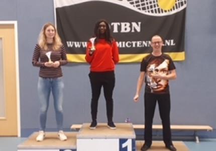 Christelle van Appoldro Nederlands Kampioen