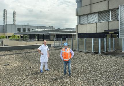 Buitenlucht voor IC-patiënten in Gelre Apeldoorn
