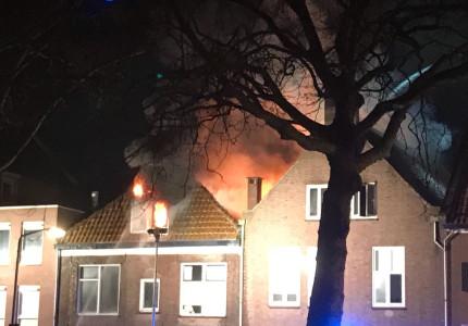 Woningbrand Zutphen
