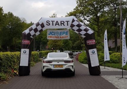 Eerste JCI Veluwe Rally geslaagd evenement