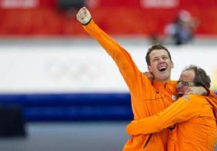 Olympisch kampioen hangt  schaatsen aan de wilgen