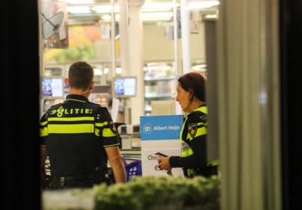*VIDEO* Overval op Albert Heijn in Apeldoorn; politie start onderzoek