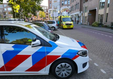 Kop staartbotsing op Prins Willem-Alexanderlaan