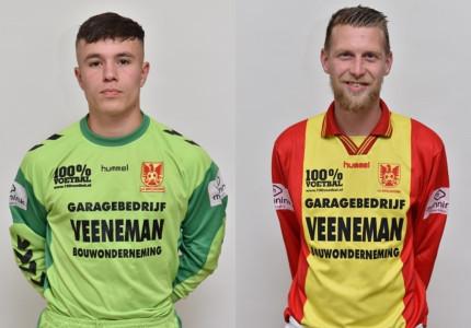 Sebastian van Laar en Sil Fiddani blijven spelen voor csv Apeldoorn