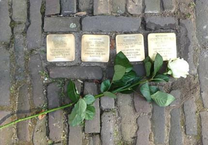 Struikelstenen voor omgekomen Joden