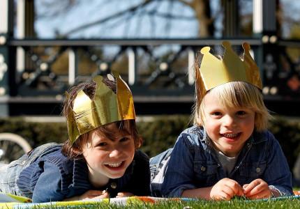Koningsdag in Apeldoorn