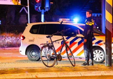 Traumahelikopter opgeroepen voor gevallen fietser