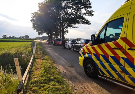 Fietster gewond na ongeval in buitengebied Empe