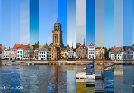 20 beelden vormen 1 skyline