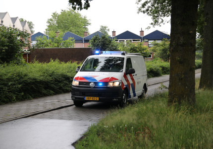 Motorrijder gewond na harde val in Apeldoorn