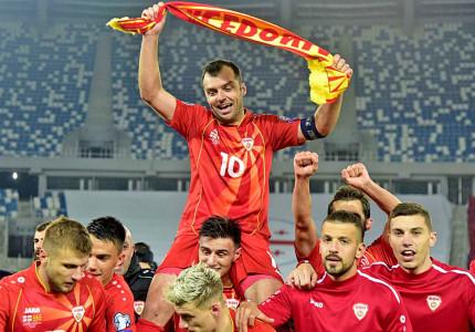 Apeldoorner Djordji Karajanov hoopt op stunt van 'zijn' Noord-Macedonië op EK: 'Onze kracht is het collectief en onze trots'