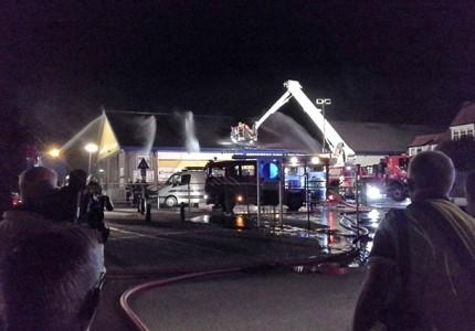 Grote brand in Zutphen