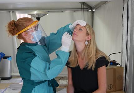 Testen op coronavirus