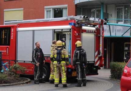 Rookmelder gaat af; brandweer komt met spoed ter plaatse