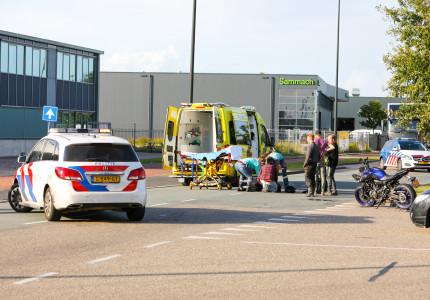 Gewonde bij ongeluk op bedrijventerrein in Apeldoorn