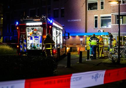 Grote brand in flat in Apeldoorn