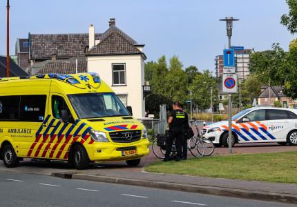 Vrouw gewond na valpartij
