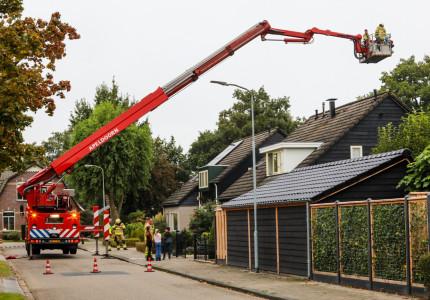 Geen gewonden bij schoorsteenbrand aan Mettenboschstede in Vaassen