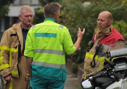 Bewoner belt brandweer na vreemde lucht.
