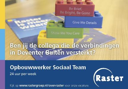 Opbouwwerker Sociaal Team