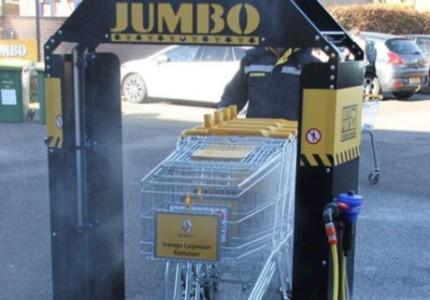 Schone karren bij Bathmense Jumbo