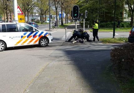 Man aangehouden na beledigen agenten