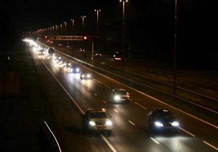 Gewonde na botsing op de A1 bij Apeldoorn