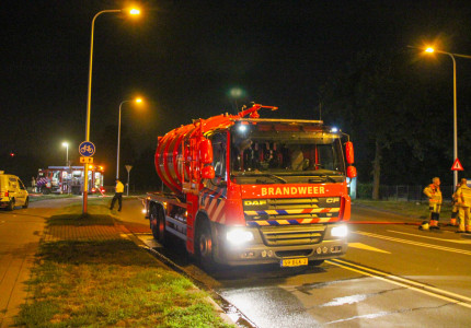 Forse brand in loods