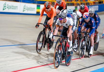 EK baanwielrennen voor junioren en beloften in Apeldoorn