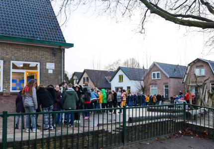 Brand in toiletten bij basisschool; brandstichting niet uitgesloten