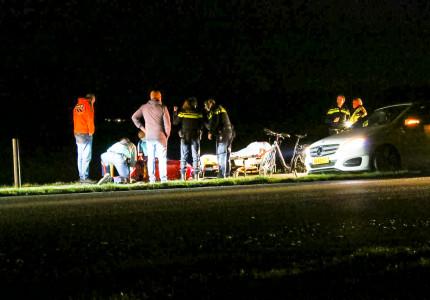 Traumahelikopter naar Warnsveld wegens ongeval met fietser