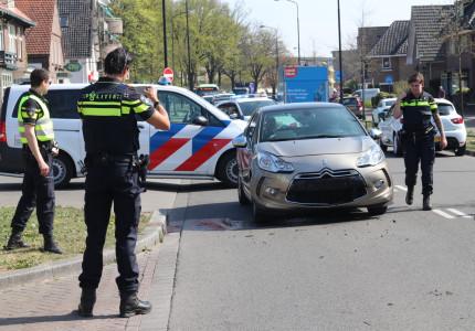 Een gewonde bij ongeval tussen twee personenauto's en bestelbus